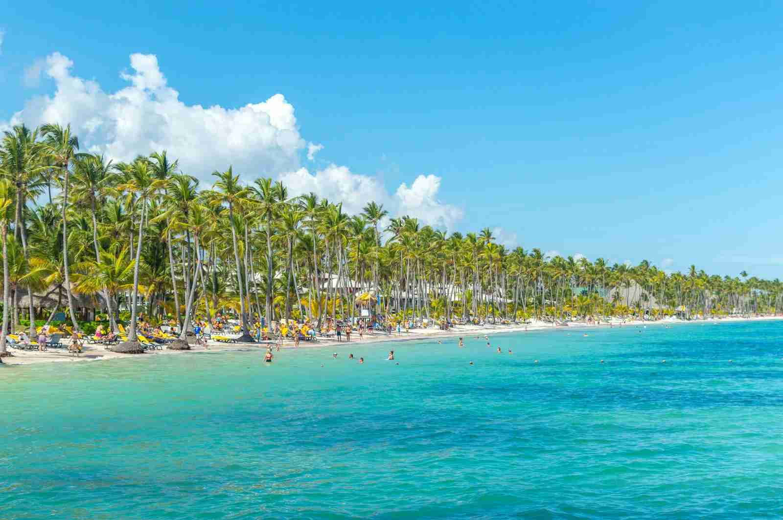 Punta Cana in the Dominican Republic. (Photo by bakerjarvis/Getty Images)
