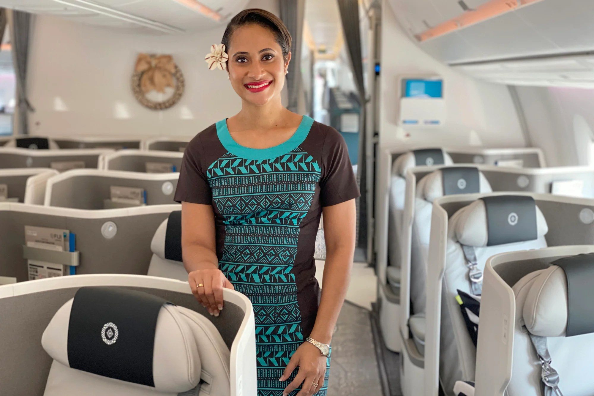 Where to sit when flying Fiji Airways' Airbus A350-900