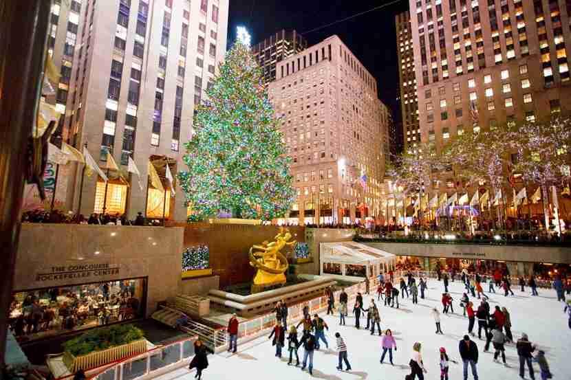 The Tree at Rockefeller Center