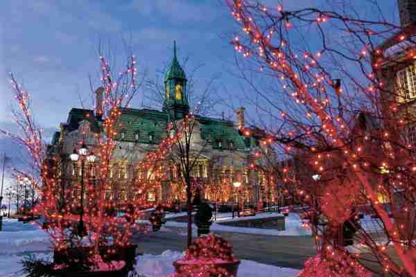 Old Montreal and City Hall. (Photo by Perry Mastrovito/Getty Images)
