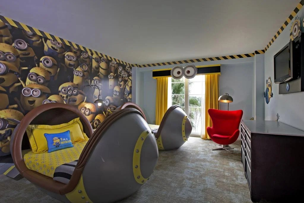 Despicable Me Suite at Loews Portofino Bay Hotel (Photo courtesy of Booking.com)