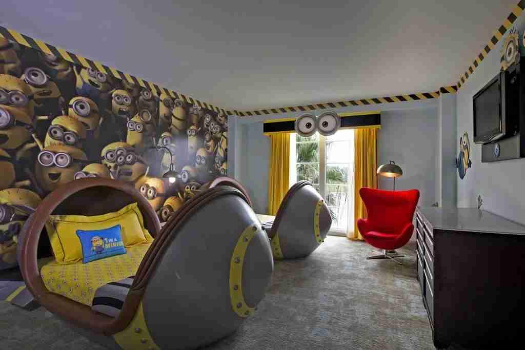 Despicable Me Suite at Loews Portofino Bay Hotel (Photo courtesy of Booking.com)