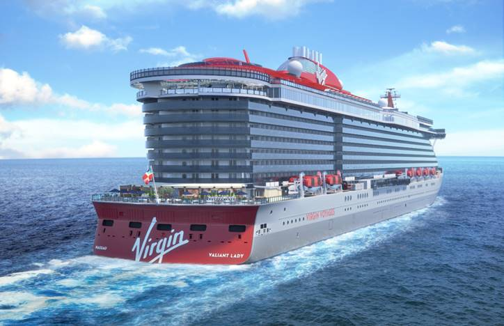 Virgin Voyages unveils its second ship and 3 Mediterranean itineraries