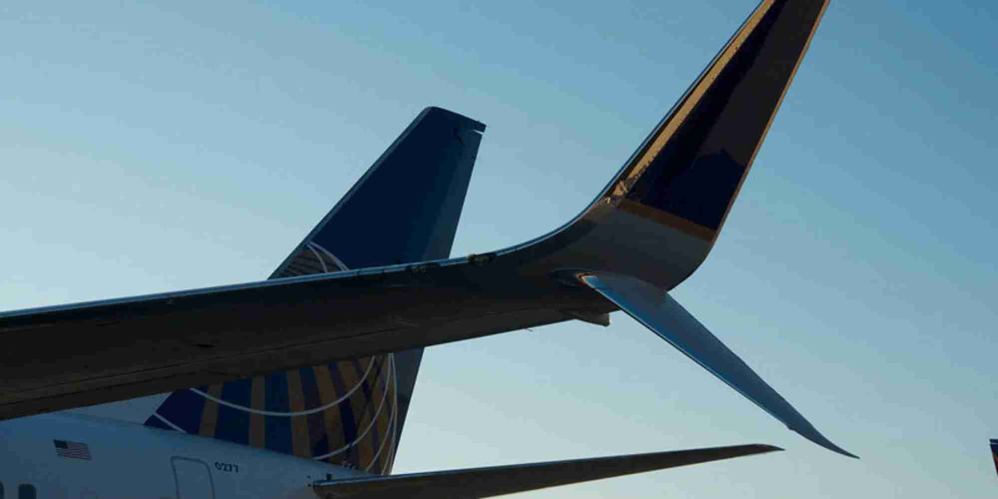 Up close with United Airline