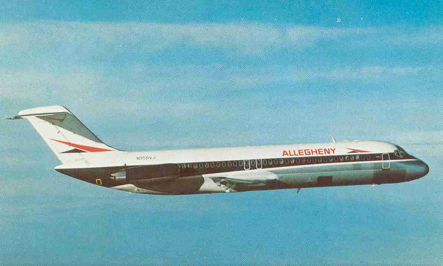 Allegheny's (later USAir) DC-9 fleet numbered more than 50.