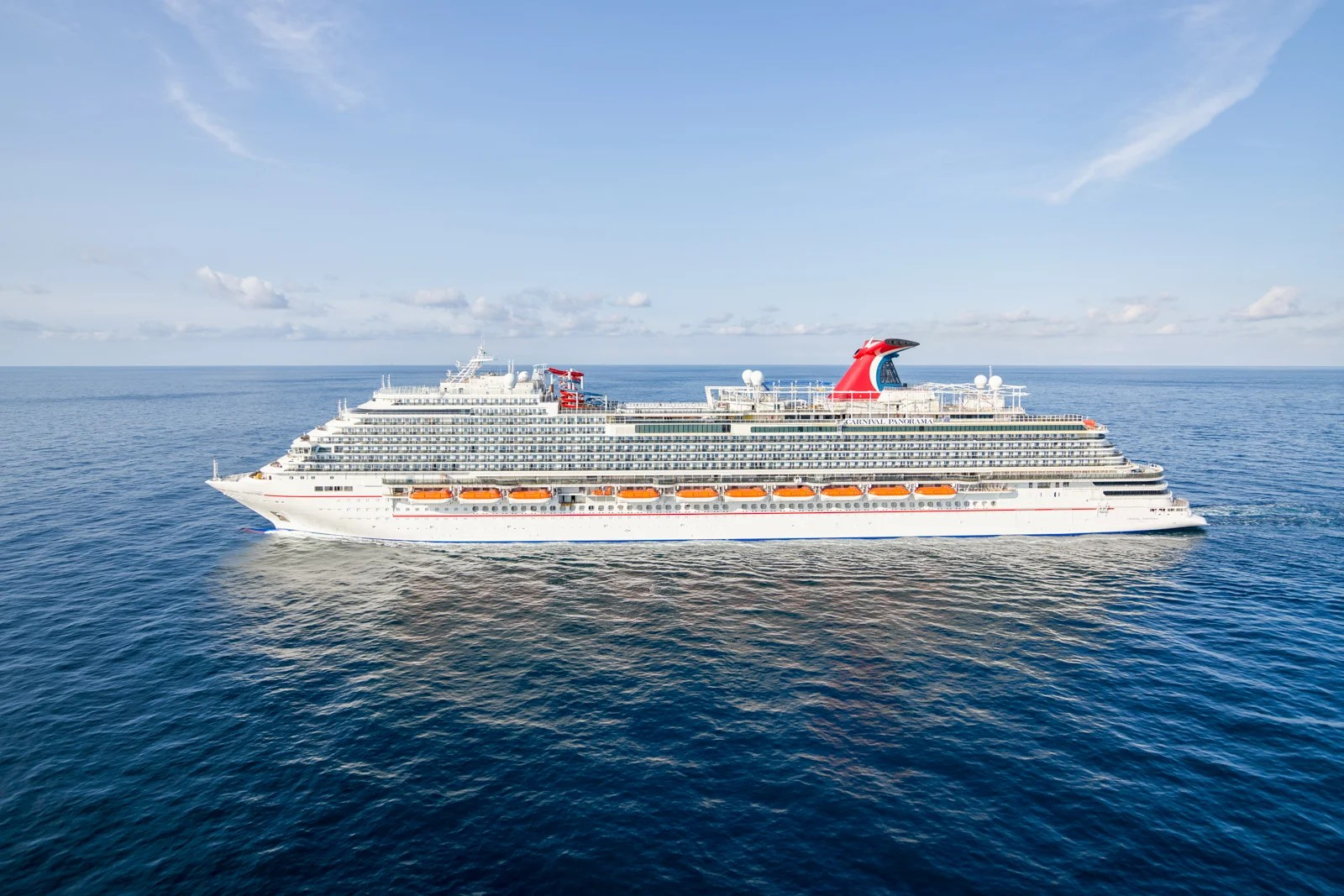 We got an early look at Carnival's first new ship in nearly two years