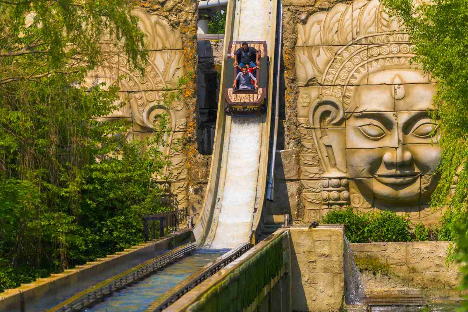 Chessington World of Adventures in Surrey, UK. (Photo by Pawel Libera/Getty Images)