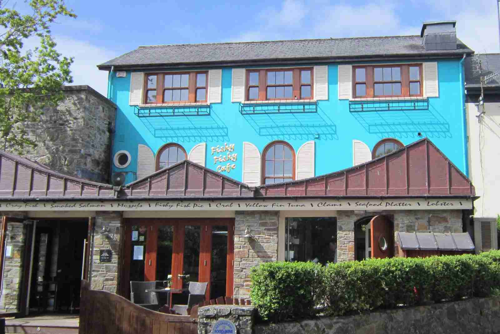 The Fishy Fishy restaurant in Kinsale. (Photo by Vickie Easton/Pinterest)