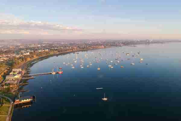 Geelong on the coast of Victoria. (Photo by Tony Nguyen/Getty Images)