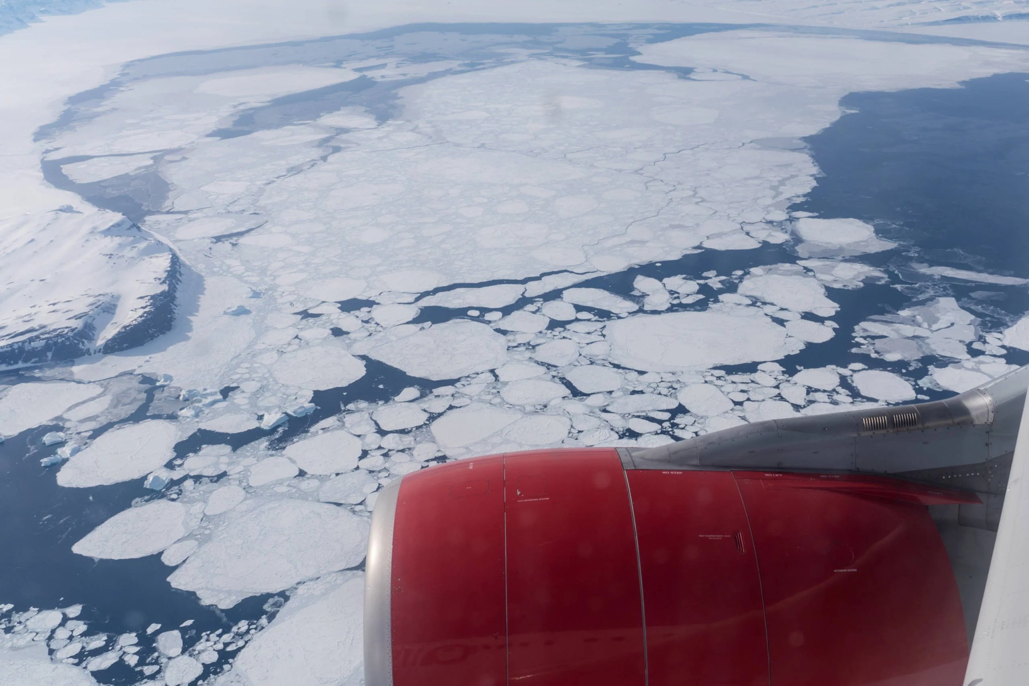 Flying to Santa's home: Why some commercial routes pass over the North Pole
