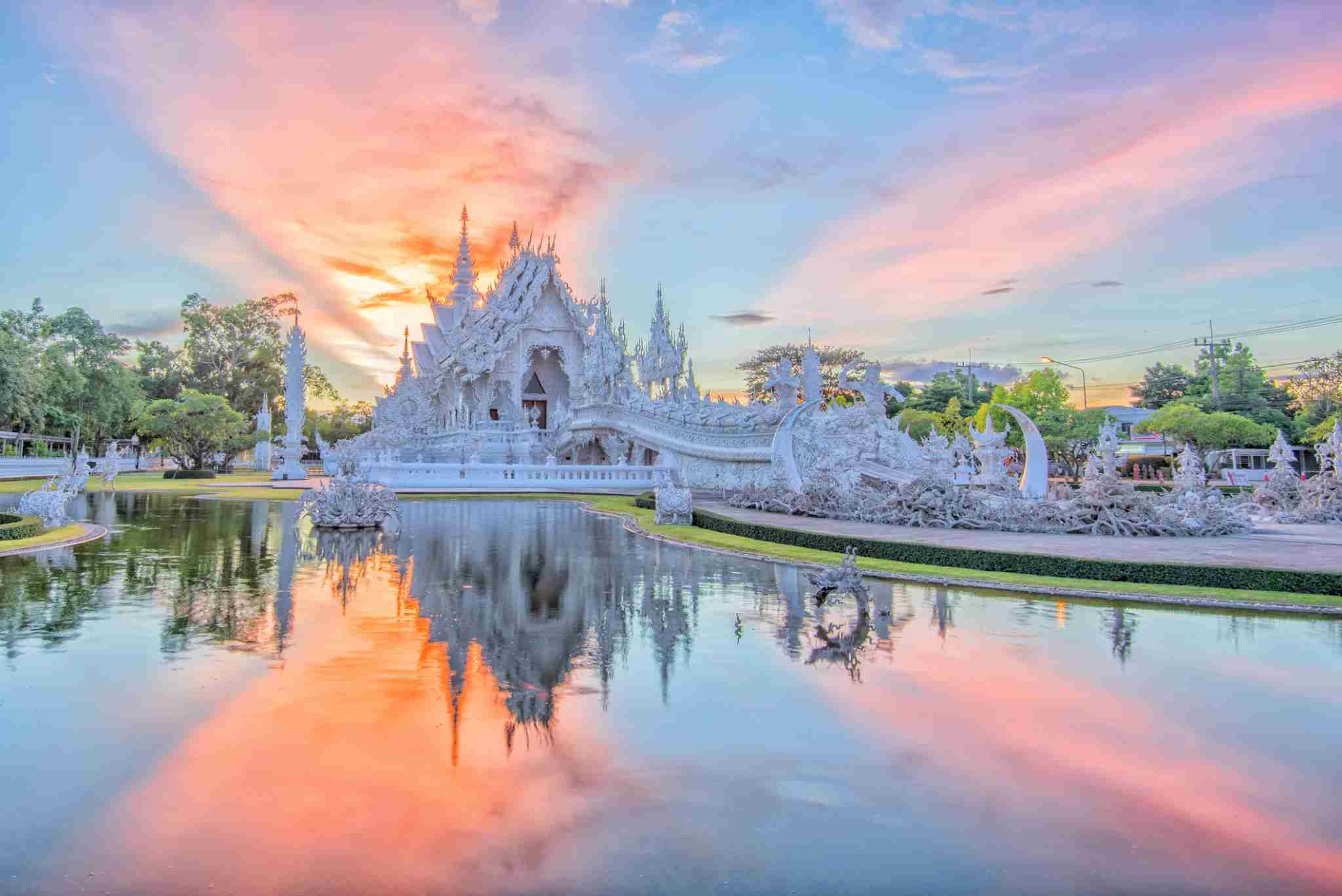The White Temple. Photo by Supoj Buranaprapapong / Getty