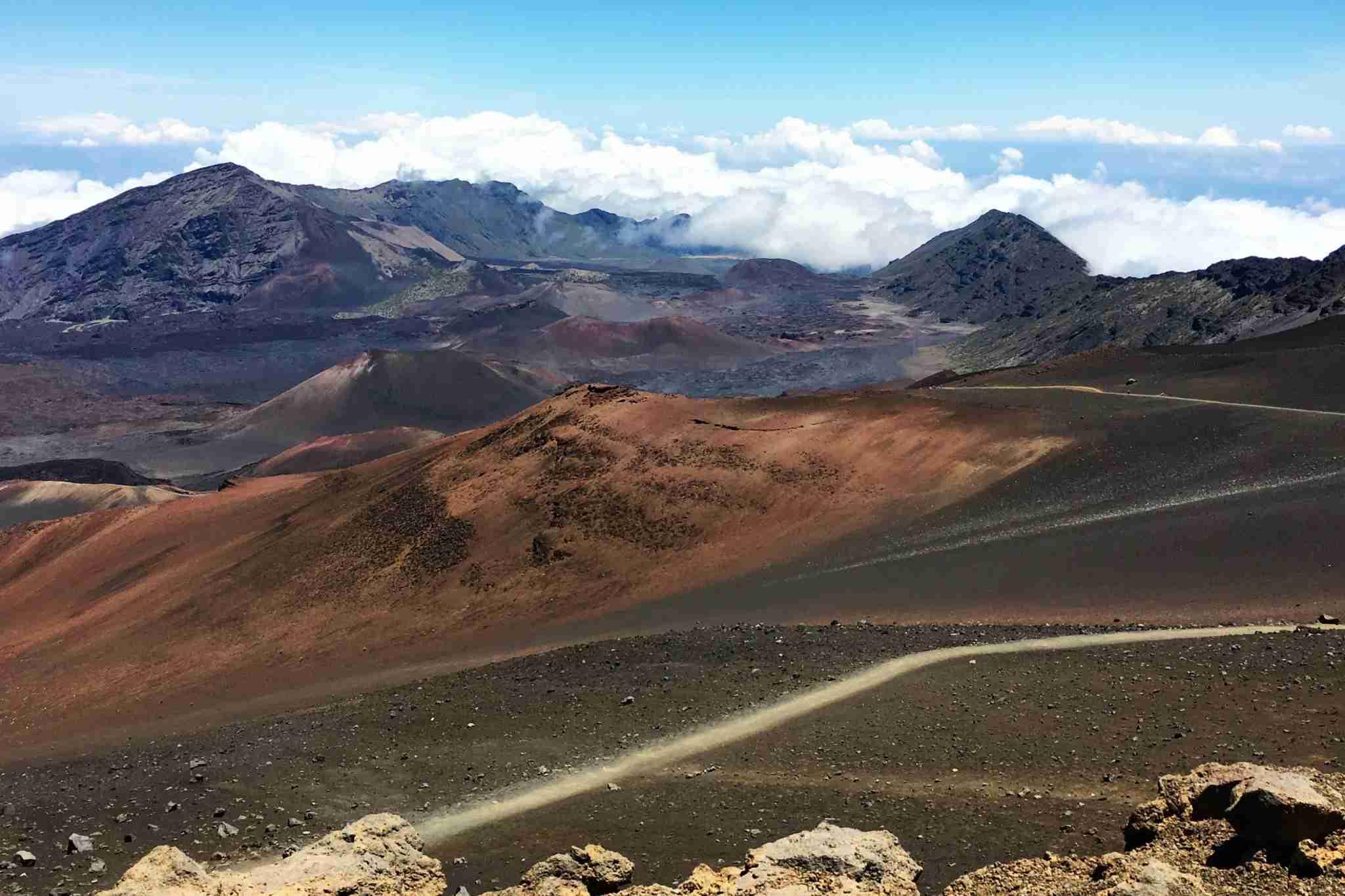 Haleakala National Park Maui Sliding Sands