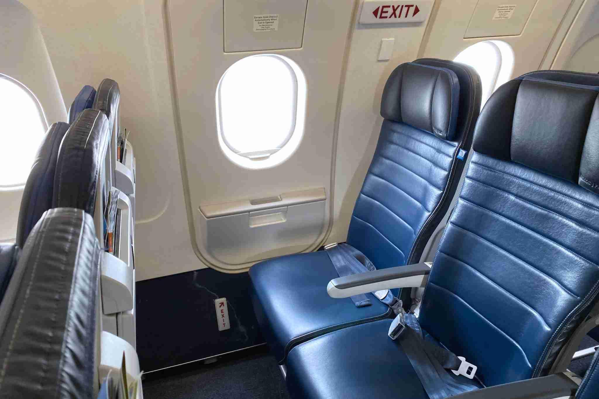 Lock in extra-legroom seats with your elite benefits