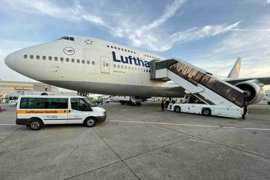 Fly Star Alliance partners, such as Lufthansa, when booking with Avianca miles (Photo by Zach Honig/The Points Guy)