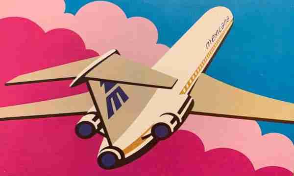 A Mexicana de Aviación 727.