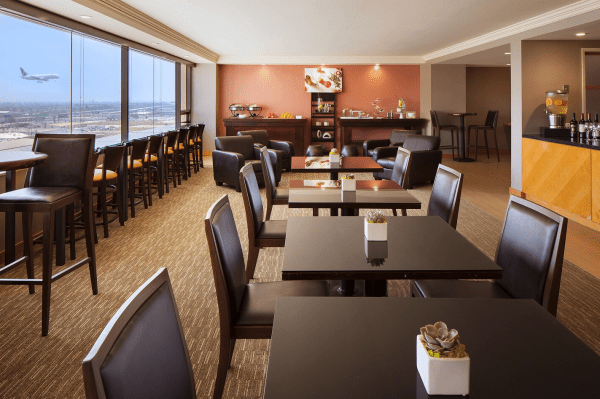 Club Lounge Westin LAX (Photo courtesy of Marriott)