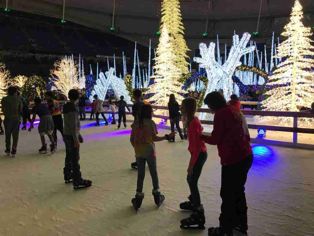 The ice skating trail is a highlight of Enchant Christmas (Terry-Ward.com)