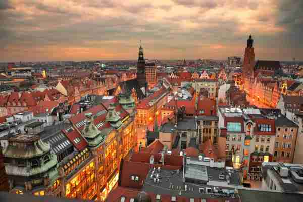Wroclaw, Poland. (Photo by Antagain/Getty Images)