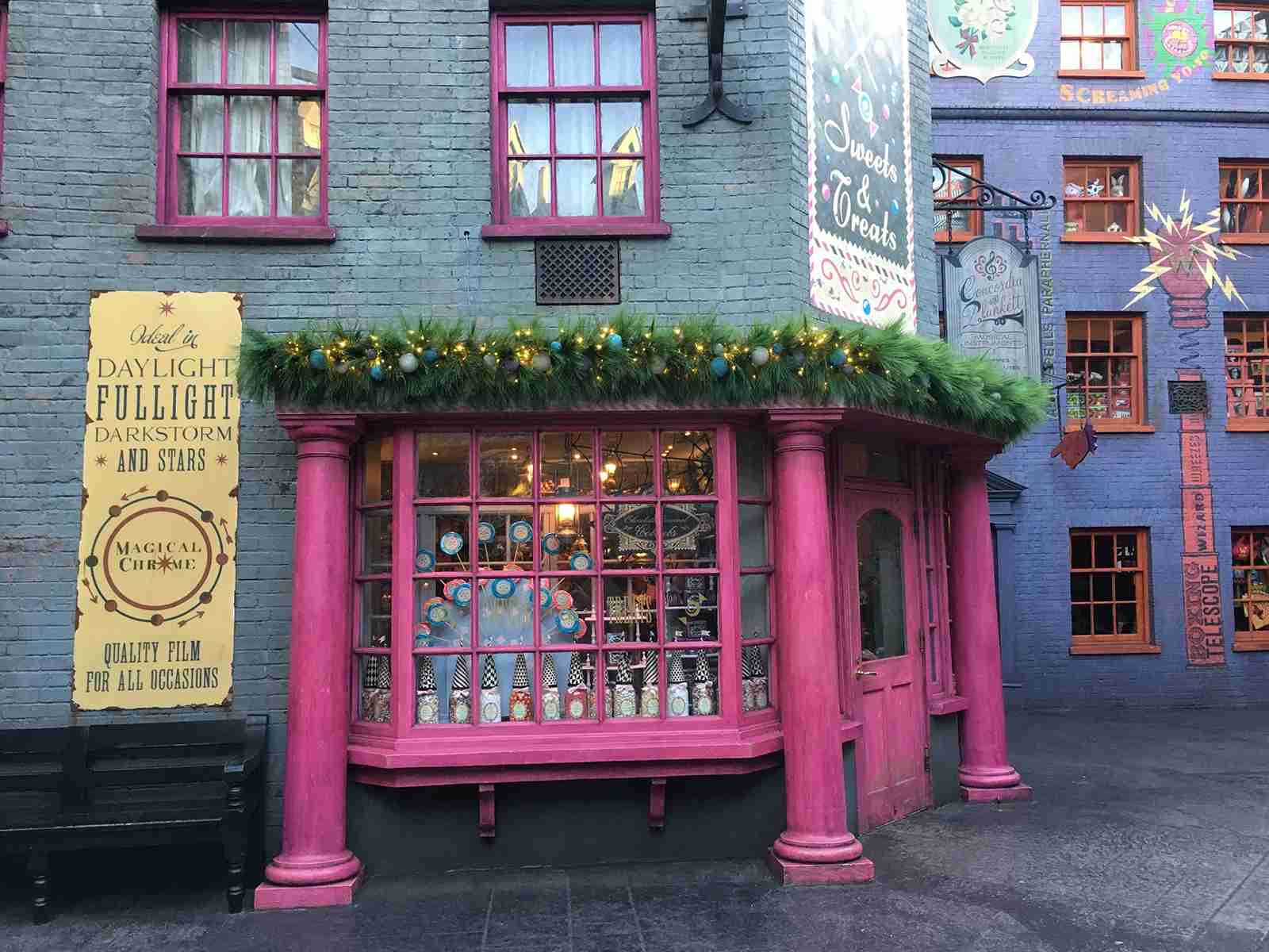 Pick up some souvenirs on Diagon Alley. (Photo by Andrea M. Rotondo/The Points Guy.)