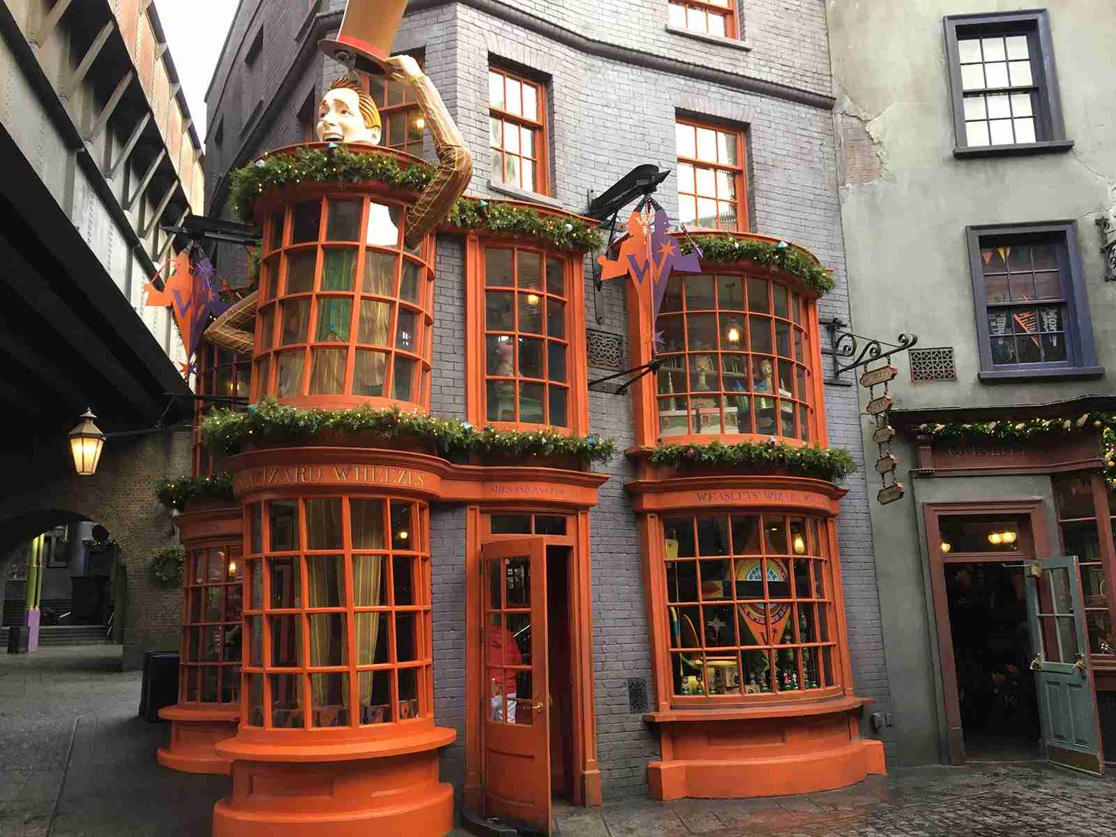 Diagon Alley (Photo by Andrea M. Rotondo/The Points Guy.)