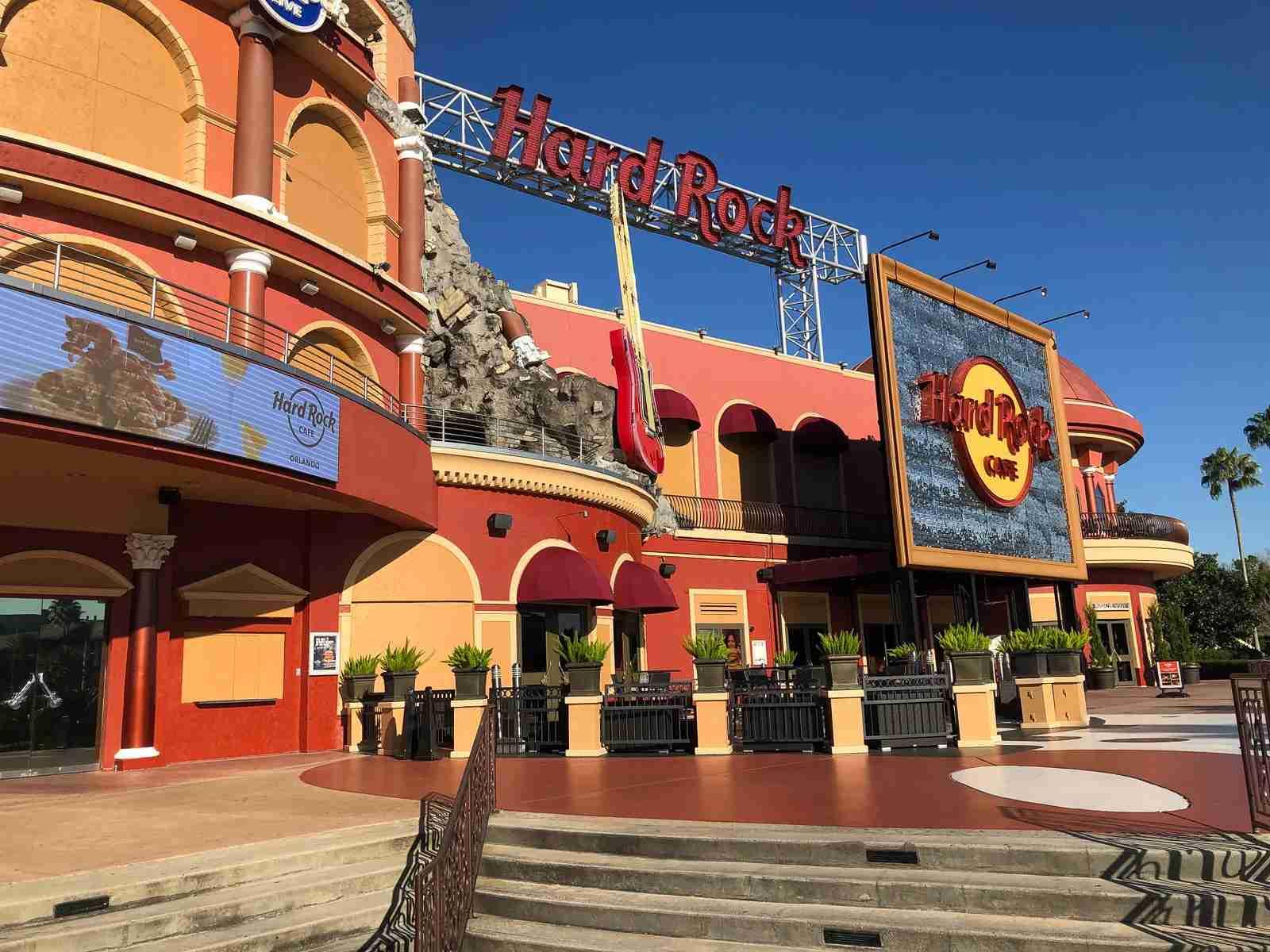 Universal Orlando CityWak Hard Rock