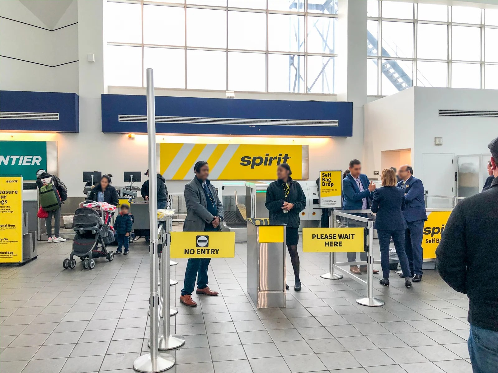 Spirit introduces self-service bag check at New York LaGuardia