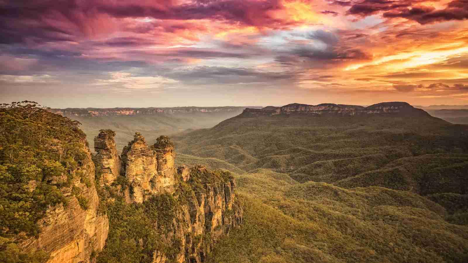 The Blue Mountains. (Photo by Markus Gann/Shutterstock)