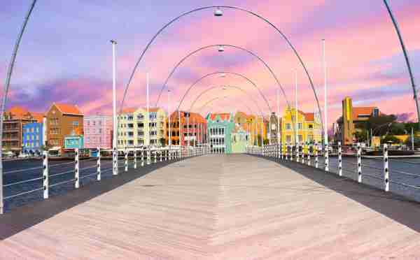 Willemstad, Curacao. (Photo by elvirkin/Getty Images)