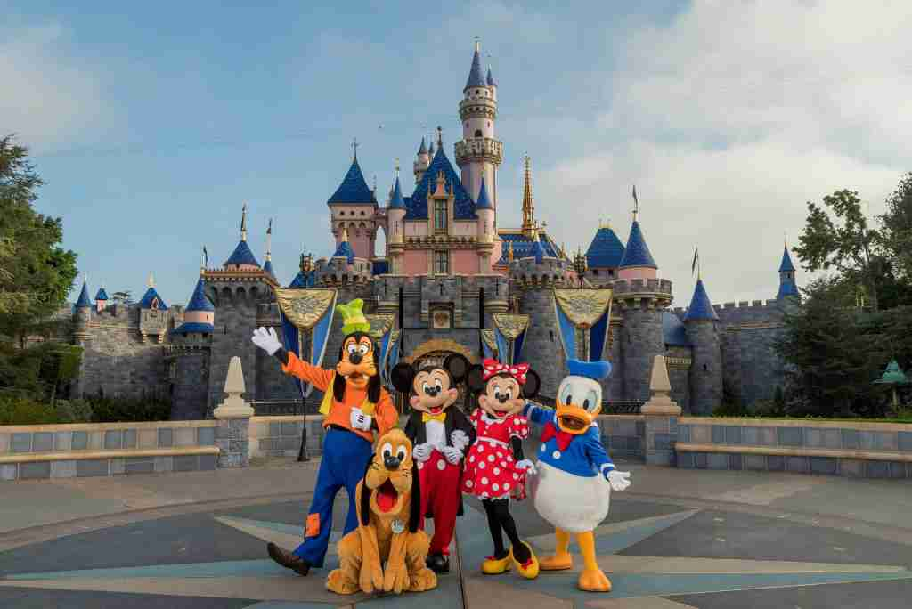 Disneyland Sleeping Beauty Castle in California