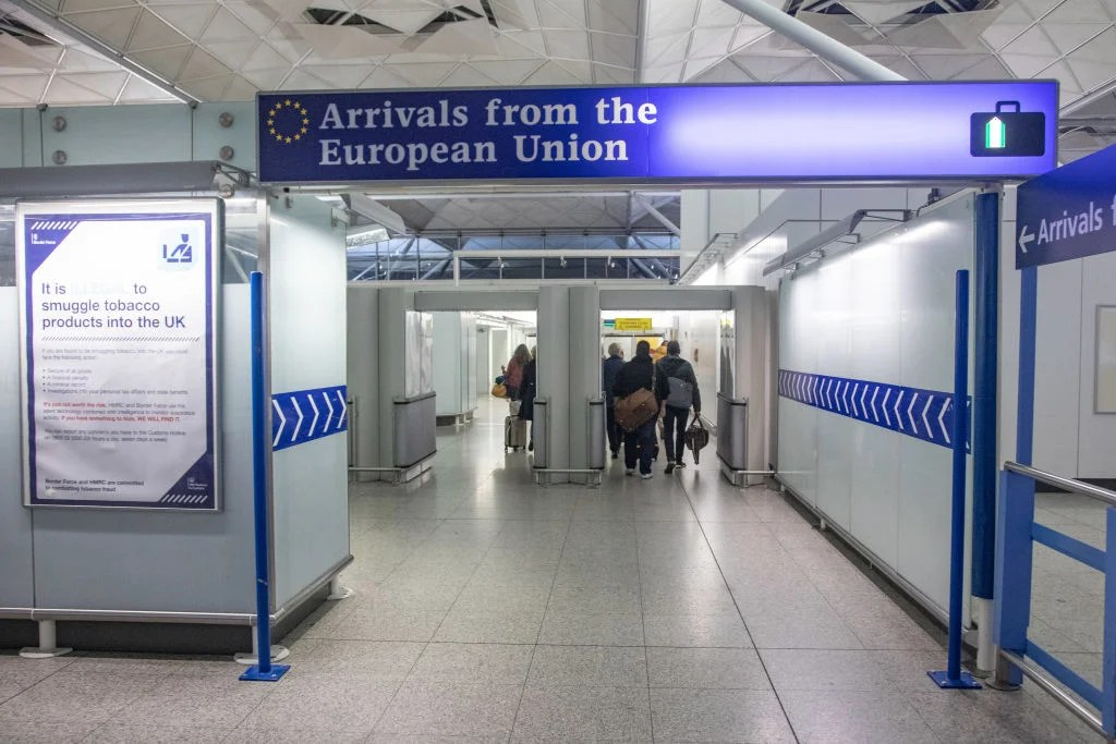 Brexit Day What You Need To Know About Traveling Between The Uk And Eu