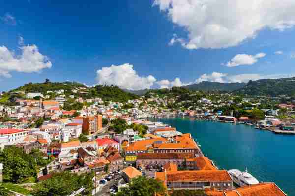 St. George's, the capital of Grenada. (Photo by Flavio Vallenari/Getty Images)