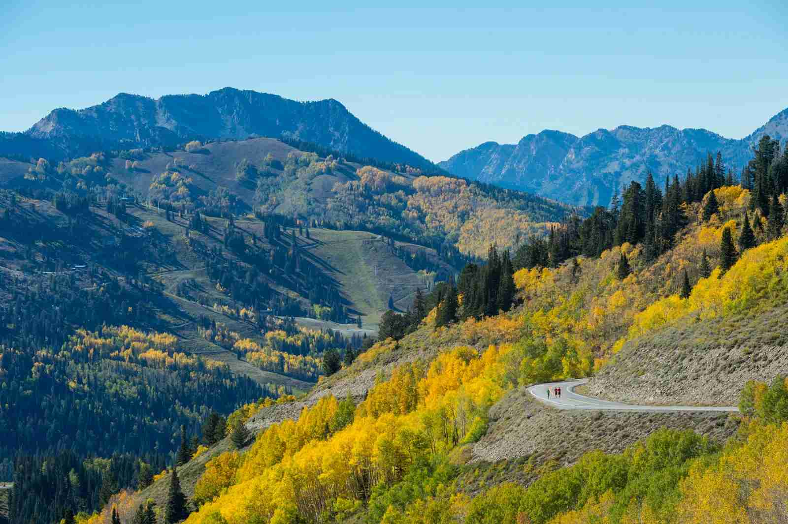 The Wasatch Mountains near Park City, Utah. (Photo by Scott Markewitz/Getty Images)