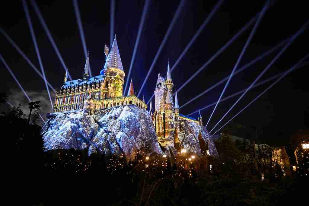 Christmas at Hogwarts Castle