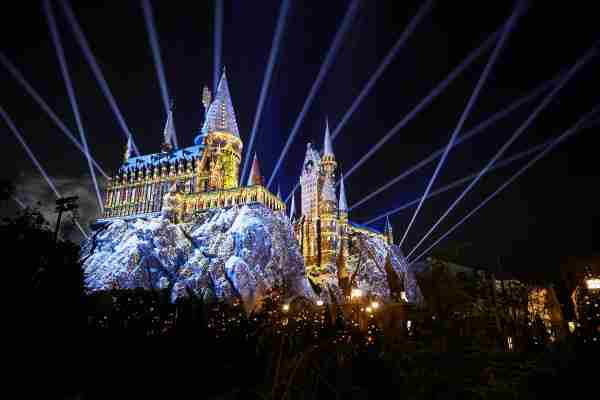 Christmas at Hogwarts Castle