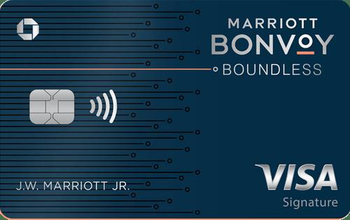 Marriott Bonvoy Boundless Credit Card