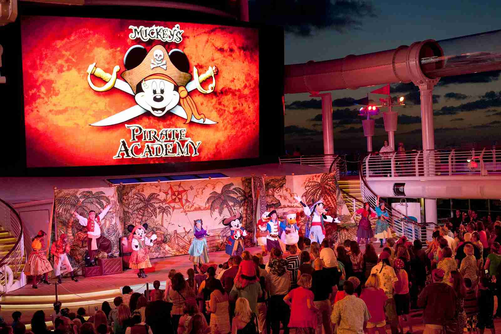 Pack a few items for Pirate Night on Disney Cruise Line (Photo courtesy of Disney Cruise Line)