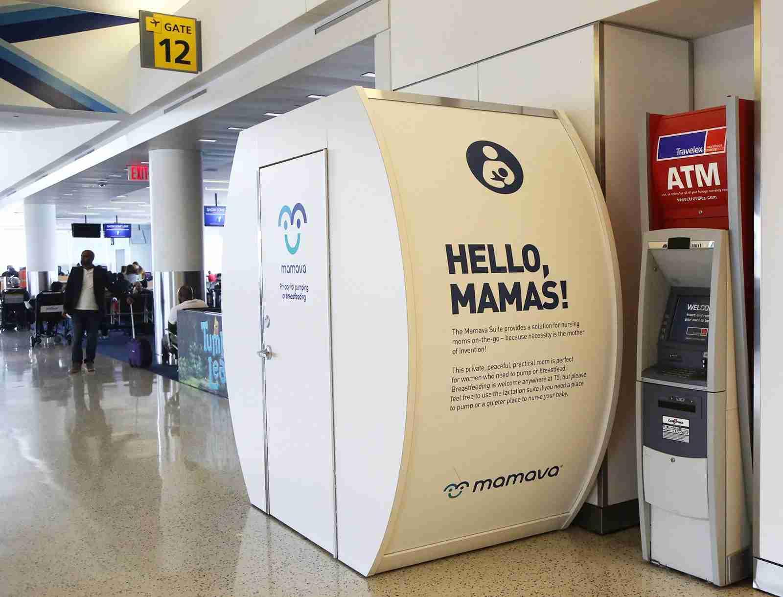 A Mamava Original at JFK