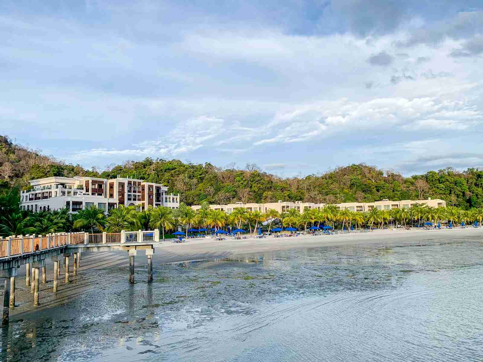 The Marriott Gold status provided by the Platinum Card might get you an upgrade at Marriott properties like the St. Regis Langkawi (Photo by Ethan Steinberg/The Points Guy)