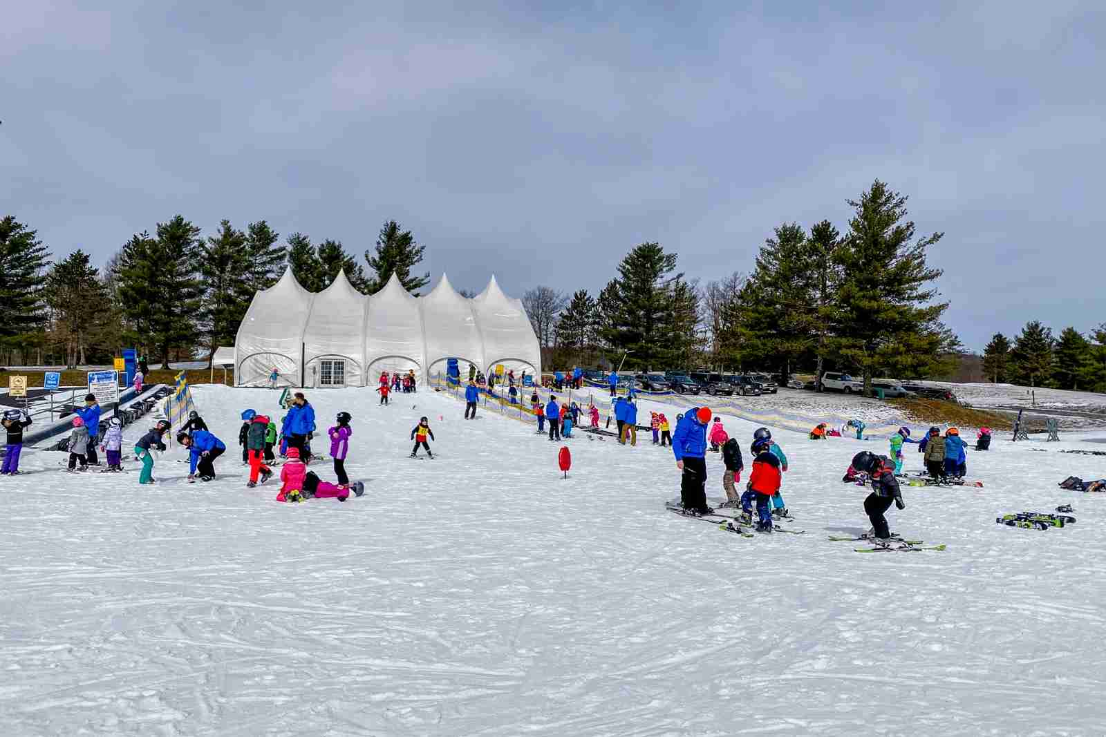 Ski school (Photo by Summer Hull/The Points Guy)