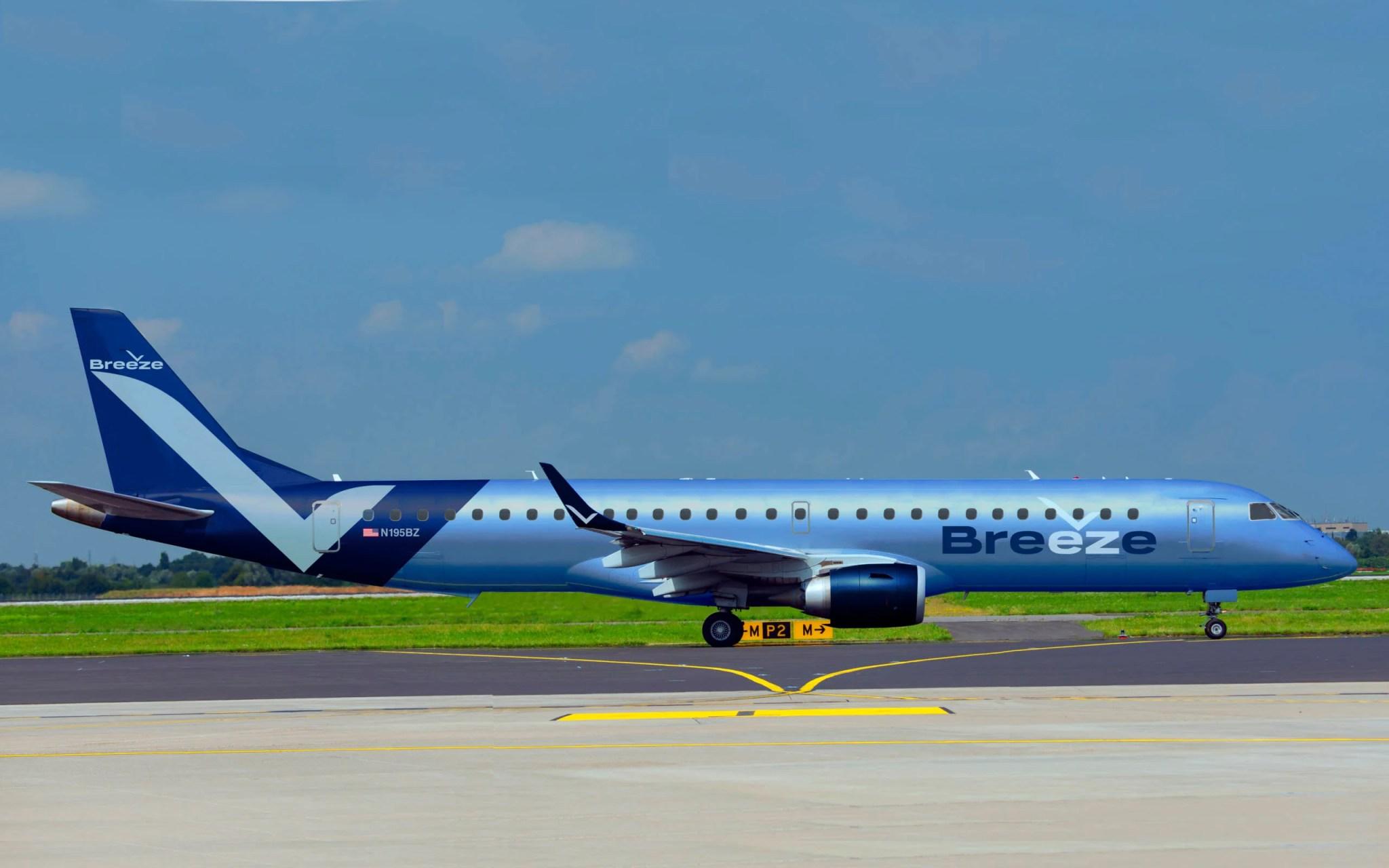 Resultado de imagen para Breeze Airways
