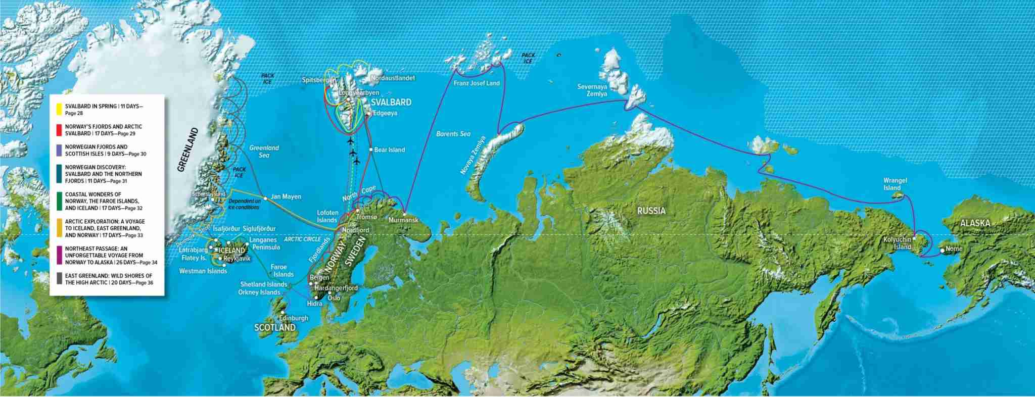 National Geographic Endurance will operate trips deep into the Arctic during the summer of 2020.