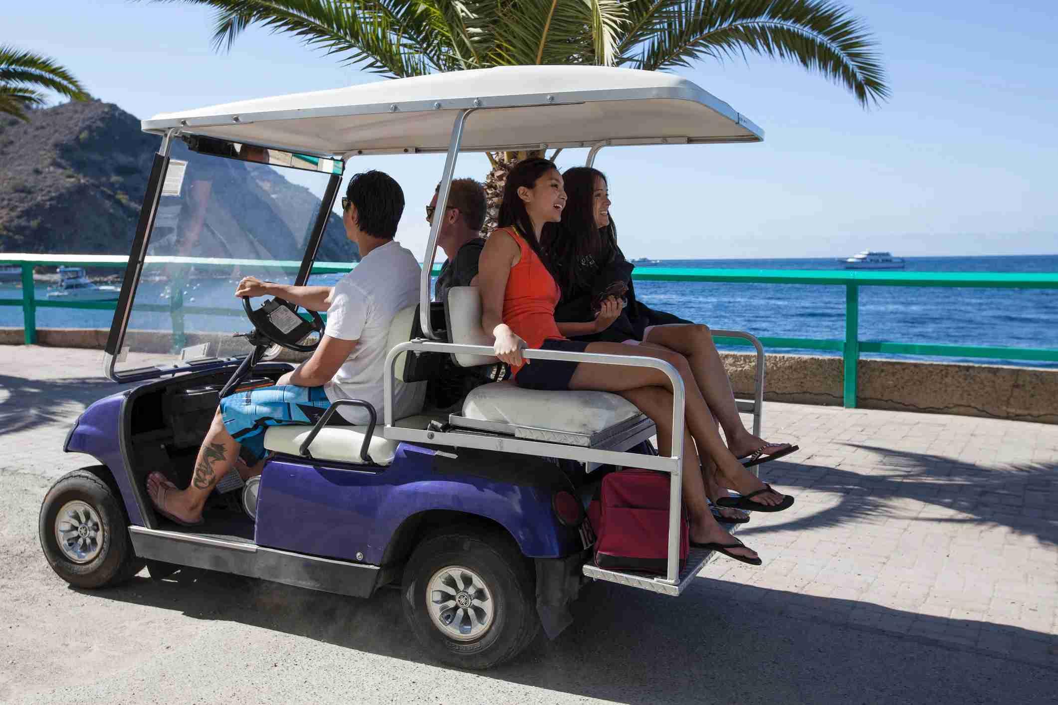 golf cart catalina island ca