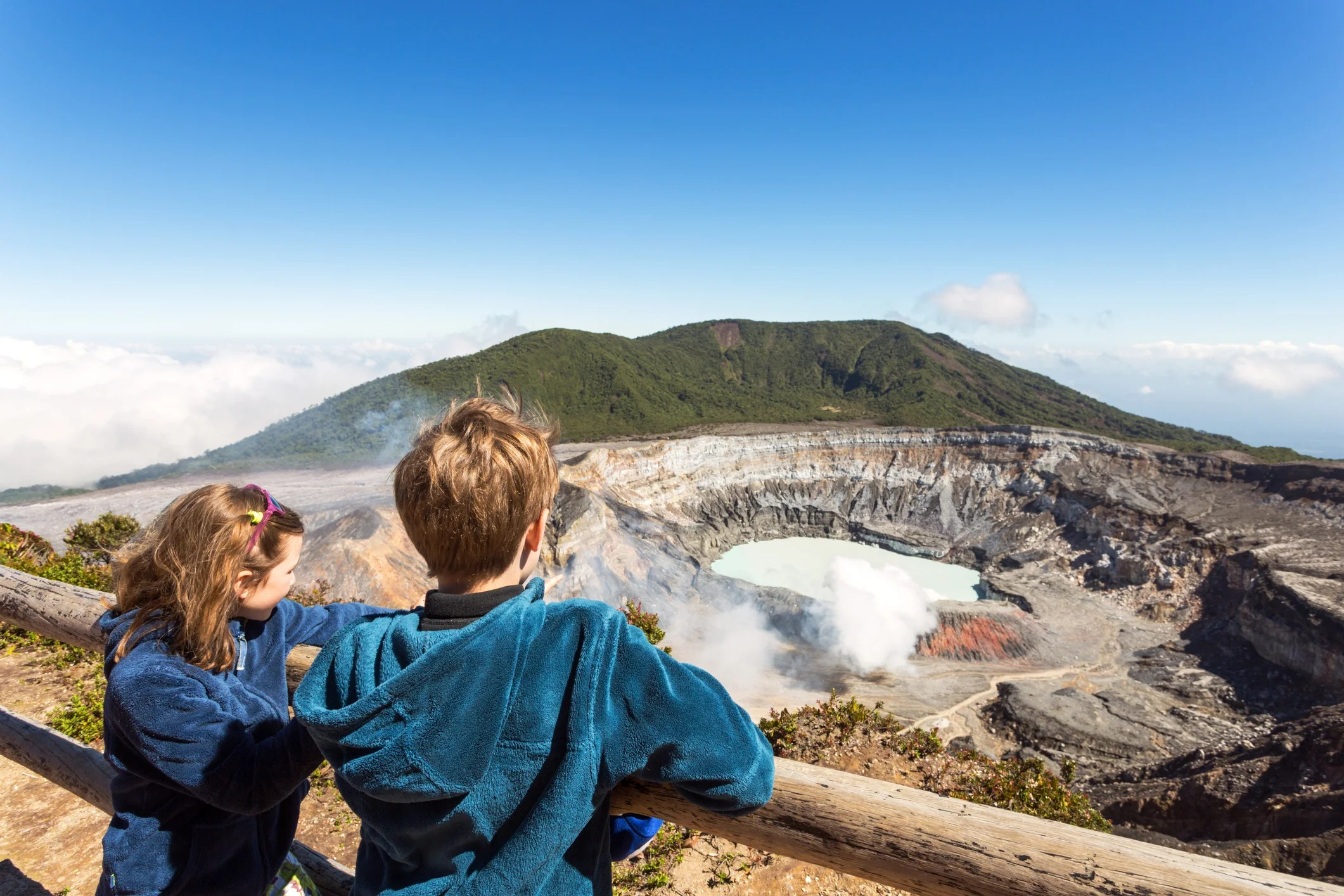 How to Take a Family to Costa Rica and See Volcanoes, Monkeys, Jaguars and Sloths