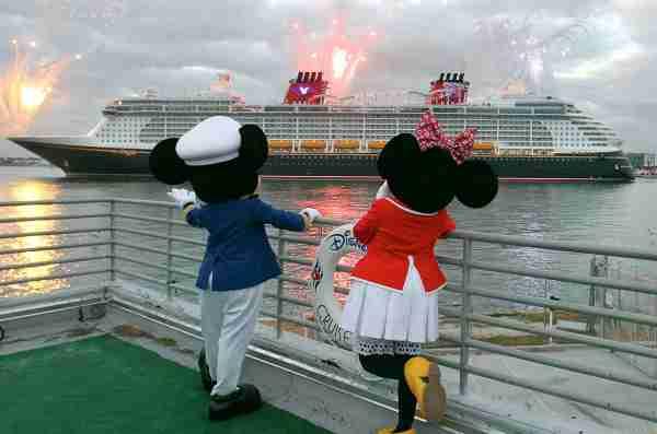 Disney Dream at Port Canaveral, Florida