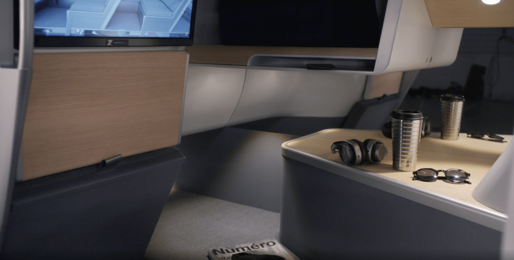 This double-decker airline seat is the stuff of budget travel dreams