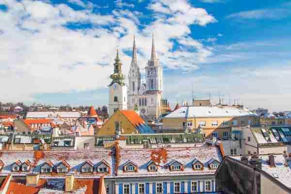 Zagreb, Croatia. (Photo by Iascic/Getty Images)
