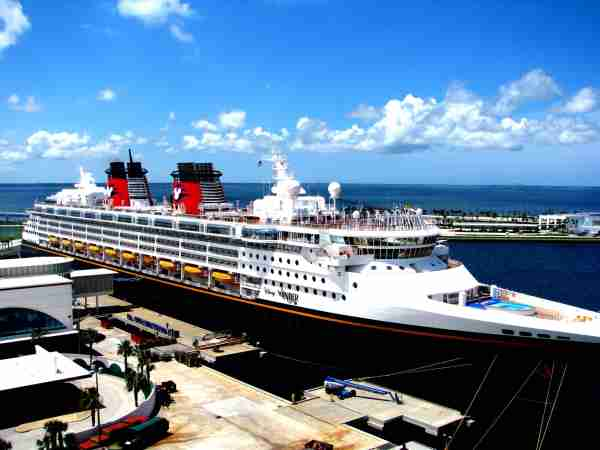 Disney Wonder at Port Canaveral. (Photo by Rennett Stowne/Wikimedia Commons/Creative Commons Attribution 2.0 Generic)