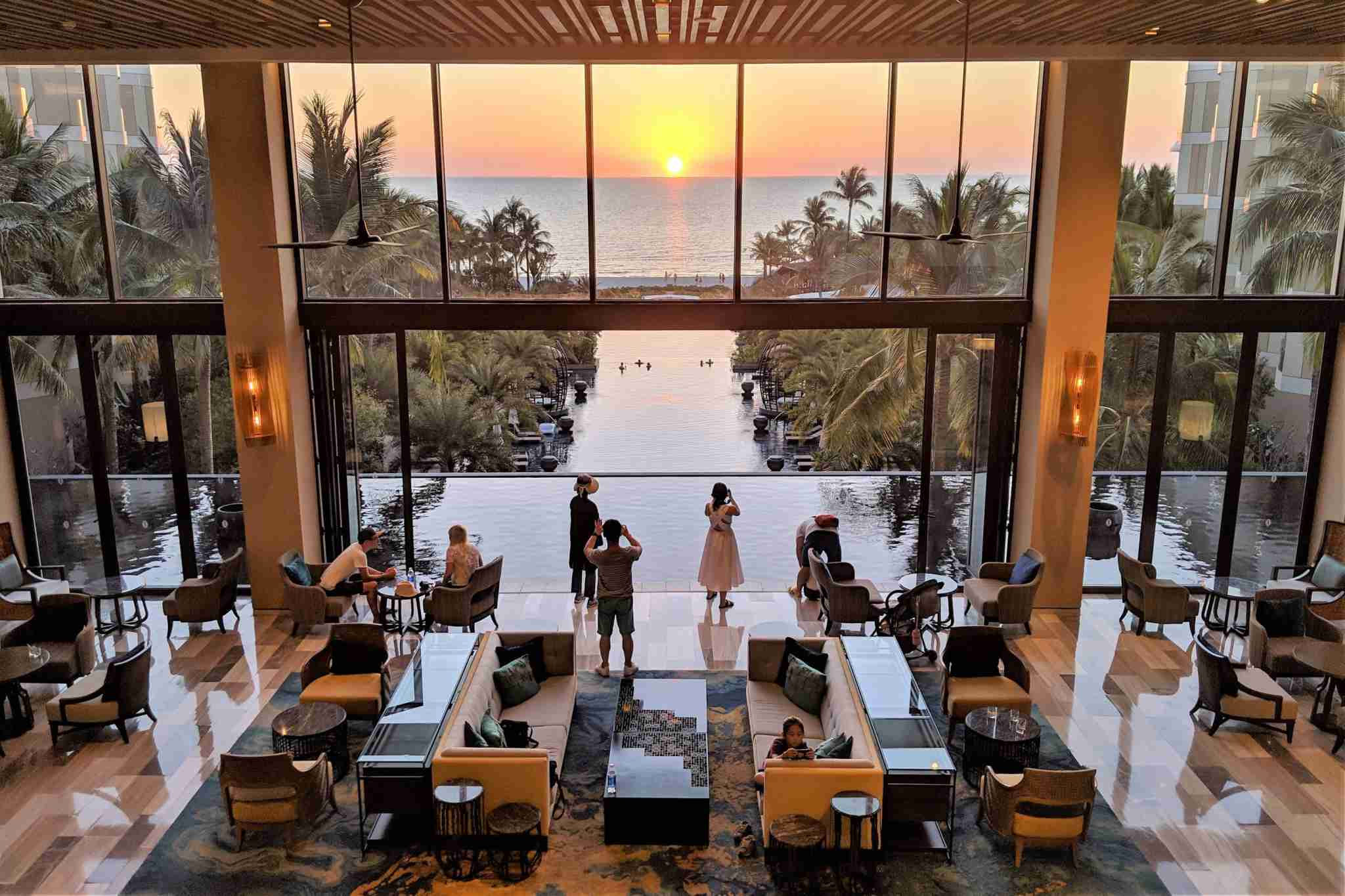 Picture yourself at the InterContinental Phu Quoc at sunset. (Photo by Katie Genter/The Points Guy)