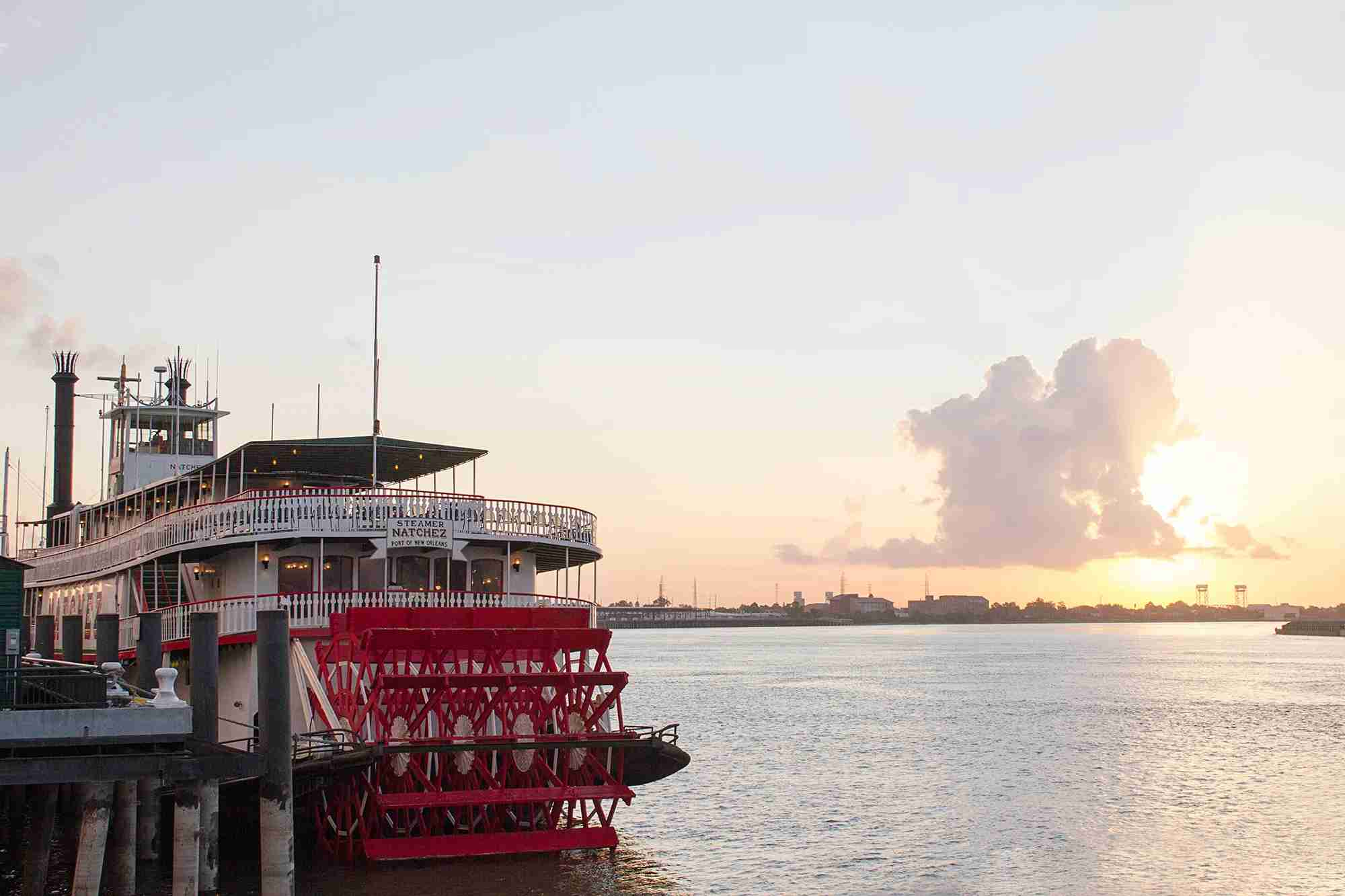 Enjoy a Mississippi River cruise. (Photo courtesy of Visit New Orleans)