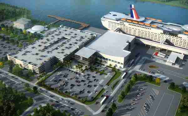 The parking situation at Port Canaveral